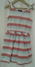 Baby Gap Multi Color Sleeveless Striped Dress Size S 6-7 years