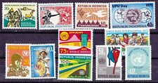 480)  INDONESIA 1971   MINT NEVER HINGED  COMPLETE SETS -  ALL PERFECT