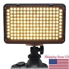 US Mcoplus Video LED Light LED-168A 168pcs LED Lamp for Camcorder DSLR Camera