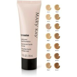 Mary Kay TimeWise Luminouse or Matte-wear Liquid Foundations New&Fresh EXP 05/21