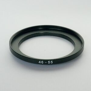 STEP UP ADAPTER 46MM-55MM STEPPING RING 46MM TO 55MM 46-55 FILTER ADAPTOR