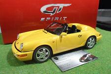 PORSCHE 911 964 Speedster Cabrliolet au 1/18 GT SPIRIT GT008CS voiture miniature