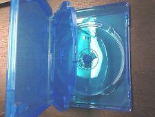5 Triple 3-Disc Blue Blu Ray Standard Translucent XBox 360 Game Movie Case 14mm