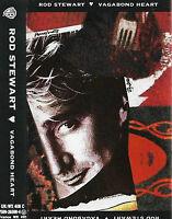 Rod Stewart Vagabond Heart CASSETTE ALBUM Pop Rock, Soft Rock, Soul
