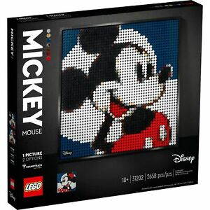 Lego 31202 Disney Art Mickey Mouse Craft Building Kit New with Sealed Box