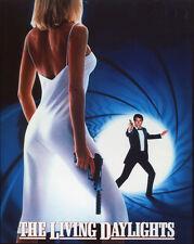 James Bond The Living Daylights UNSIGNED poster photo - H3945 - Timothy Dalton