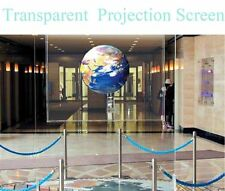 Transparent Self Adhesive Holographic Rear Projection Screen Film A4 Size