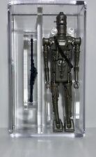 1980 Kenner Star Wars IG-88 Silver W/ Hollow Eyes AFA Graded 85 Archival! WOW!!!