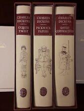 Folio Society Charles Dickens - 1994 lot  Slipcase