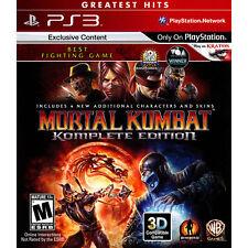 Mortal Kombat -- Komplete Edition (Sony PlayStation 3, 2012)