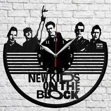 New Kids on The Block Vinyl Record Wall Clock Home Fan Art Decor 12'' 30 cm 7179