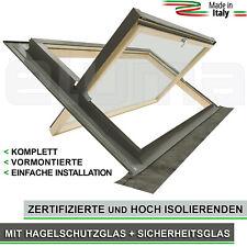 Dachfenster + Eindeckrahmen - modell COMFORT BILICO 94x55 (Öffnung Art Velux)