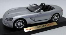 Coches, camiones y furgonetas de automodelismo y aeromodelismo Cabrio Dodge de escala 1:18