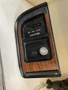 75-91 Ford Econoline Van Dash Wiper/Light Panel Cluster Bezel Dash Trim Used OEM