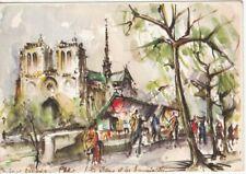 Carte postale moderne—Marius Girard—Notre-Dame et les bouquinistes—Années 70—#1