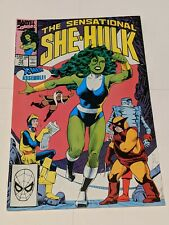 The Sensational She-Hulk #12 February 1990 Marvel Comics