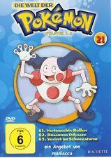 DIE WELT DER POKEMON 21 | 2. Staffel / 61-63 |  DVD #ZZ | Pokémon | DVD wie NEU