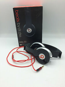 Beats Solo By Dr Dre In Black- Boxed (SD159E)