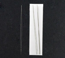 Big Eye Curved Beading Needle Threading Stainless Silver Tone Jewerly Tool 125mm