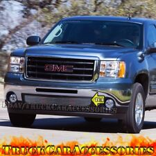 For GMC Sierra 1500 New Body 2007-2011 2012 2013 Polished 8mm Grille 1PC Bumper