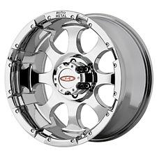 16X8 Chrome 955 MO955C 6x5.5 0 Firestone Destination LE2 265/75R16 Rims Tires