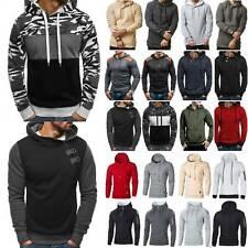 Herr Mann Sweatshirt Hoodies Pullover Sport Freizeit Top Sportswear Kleidung Neu
