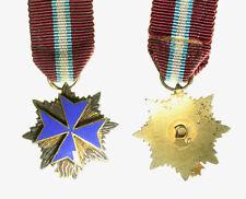 s730_1) MIGNON Croce Ordine Militare s Salvatore s. Brigida di Svezia