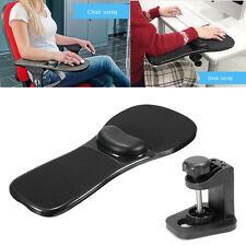 Computer Arm Rest Mouse Pad Ergonomic Home Offic Chair Desk Wrist Support Black