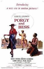 PORGY AND BESS Movie Promo POSTER Sidney Poitier Dorothy Dandridge