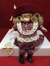 "Joan Baker Designs Little Miss Collection JENELLE Doll Porcelain 1993 8"""