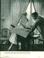 Publicité ancienne mode Christian Dior 1953 issue de magazine