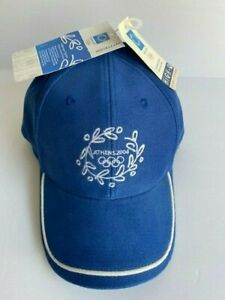 2004 Official Athens Olympics Baseball Cap. Style:0237; Color:2935