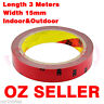 3M Double Face Sided Tape 15mm 3 Meters for Automotive Usage Dashboard Door OZ