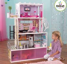 Kidkraft Beachfront Dollhouse Wooden Mansion Furniture Kids Toy Dolls Girls New