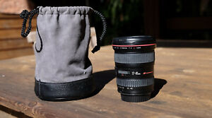 Canon 17-40 L series lens and case Used and in great condition