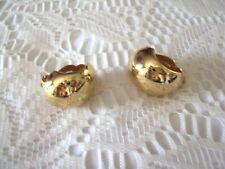 Fashion  Jewelry  Ear Clips  gold Tones Loop