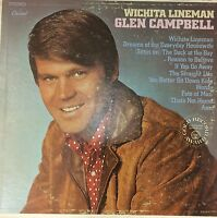Glen Campbell Record Wichita Lineman 1968 Capitol (ST 103) Album LP