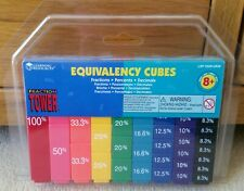 %🌈Childrens Maths Fraction Tower Equivalency Cubes from Learning Resources🌈%