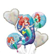 The Little Mermaid Ariel Balloon Bouquet Birthday Decoration Party Favors Supply