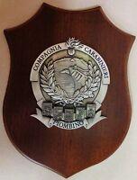 """Crest commemorativo """"COMPAGNIA CARABINIERI PIOMBINO"""" (LIVORNO)"""