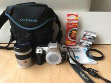 Minolta Dynax 505si Super + AF 28-80 + Cullmann Tasche + Zubehör