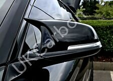 BMW GLOSS BLACK MIRROR COVERS REPLACEMENT F20 F22 F30 F31 F33 FOR 1 2 3 4 series