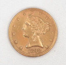 1899 $5.00 Liberty Head Half Eagle Gold Coin