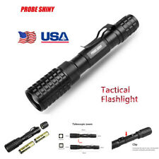 20000LM Tactical Police Zoomable XM-L T6 LED 5Mode Flashlight Torch 18650 Lamp