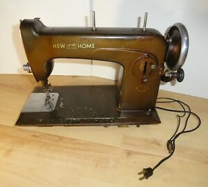 New Home Light Running Antique Sewing Machine ALB-201 Type F No. 13 Electric