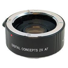 2X AF Teleconverter Lens for Canon EOS Rebel XTI XS XSI T1i T2i T3 T3i 60D 7D