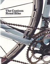 CUSTOM ROAD BIKE cyclo cross frame steering wheels controls gears saddle