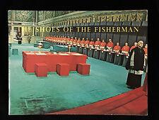 VINTAGE MOVIE PROGRAM-SHOES OF THE FISHERMAN-OLIVIER-GIELGUD-QUINN-MGM
