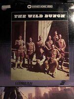 """The Wild Bunch"" Warner Home Video Laservision Laserdisc LD - William Holden"
