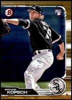 Michael Kopech 2019 Bowman 5x7 Gold #75 RC /10 White Sox